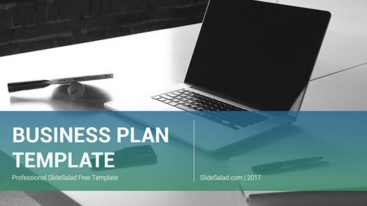 Презентация для бизнес-плана. Готовый шаблон