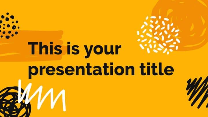 арт-стиль для презентации услуг