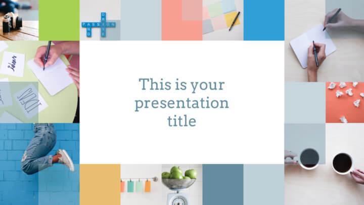 яркий и стильный шаблон готовой презентации