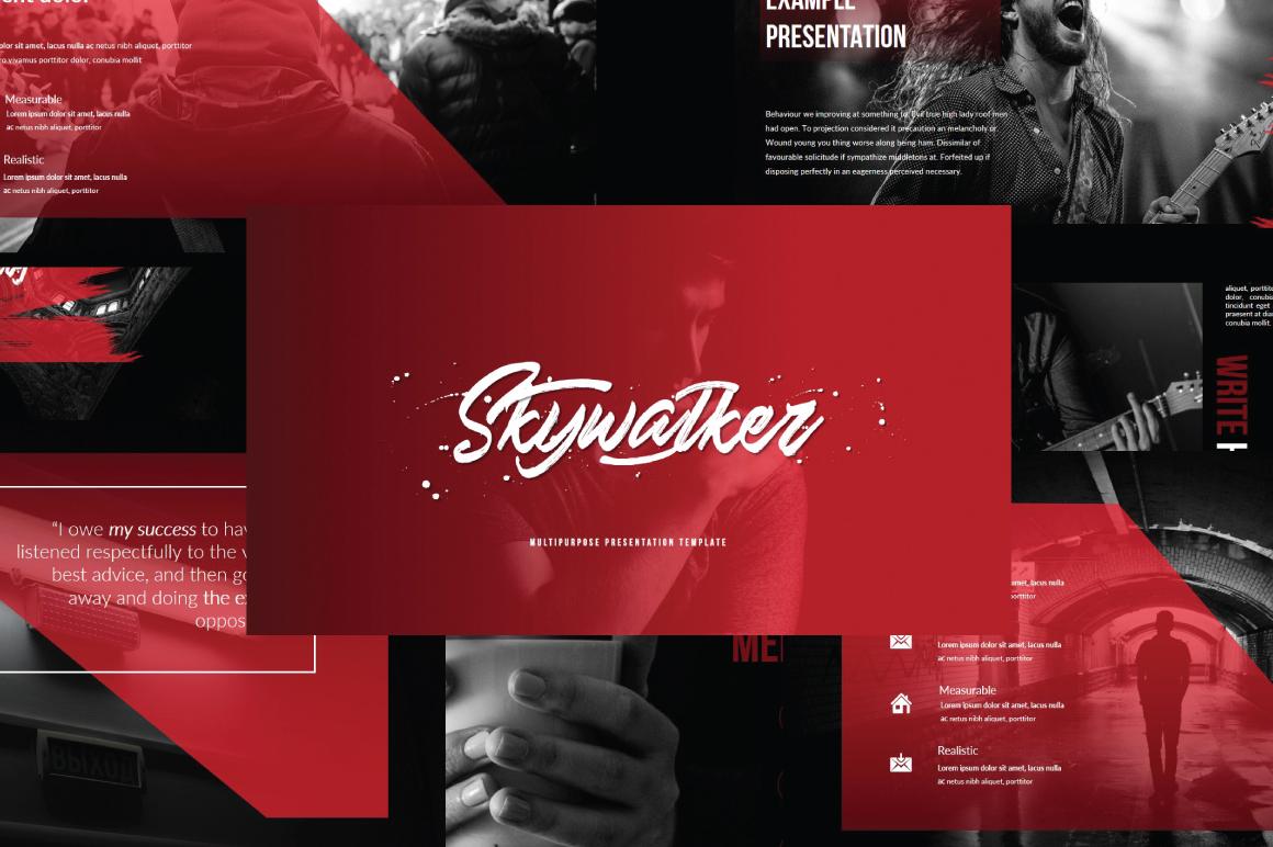 Красная с черным Powуrpoint презентация